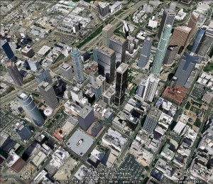 Los Angeles from Google Earth