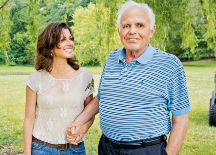 Amy Grant with Father, Burton Grant
