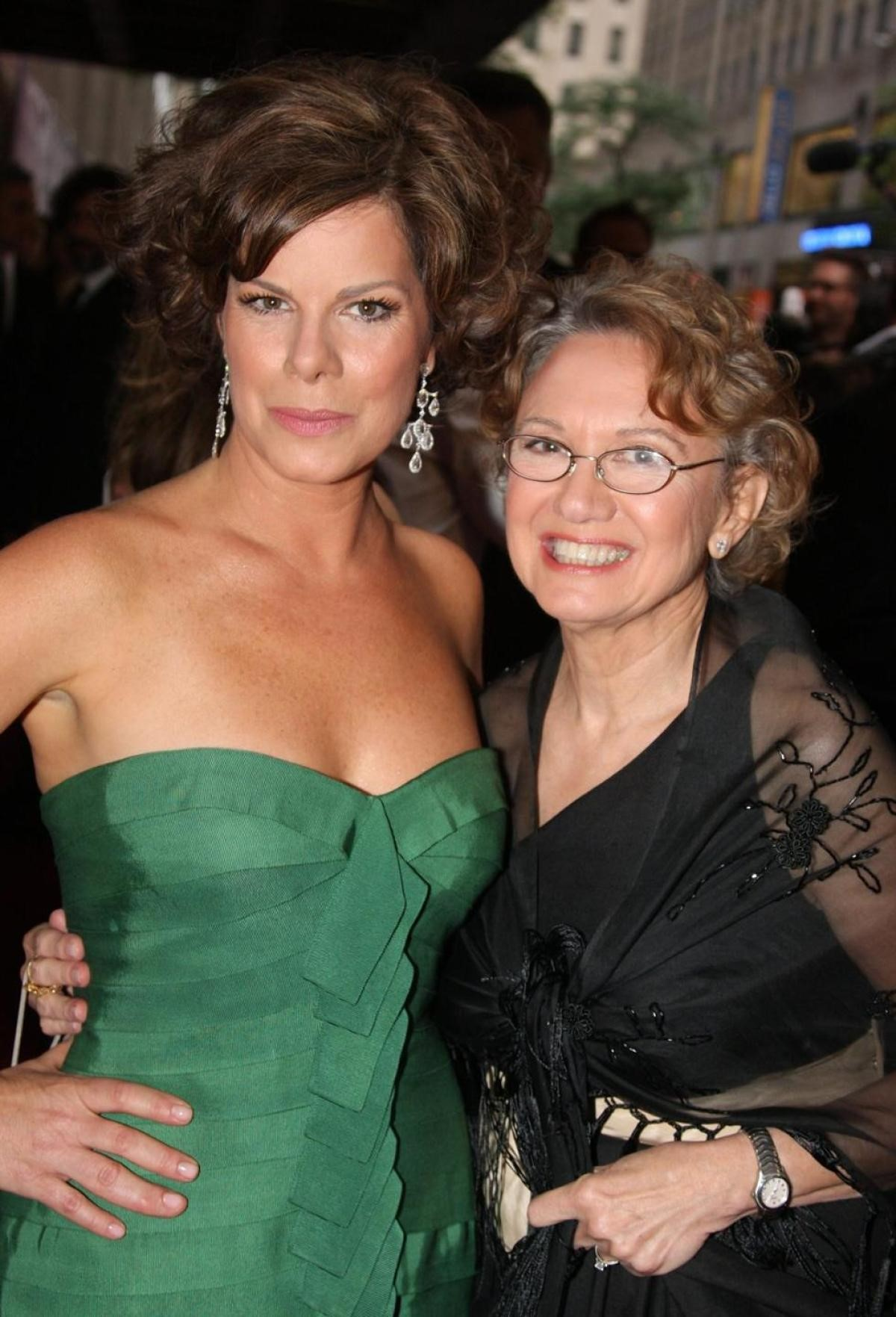 Marcia Gay Harden with Mother, Beverly Bushfield Harden